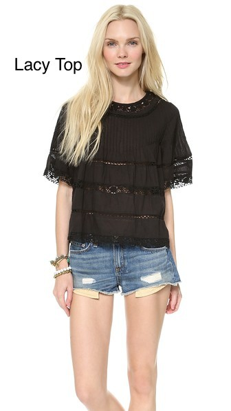 Love-Sam-Lace-Blouse-Black