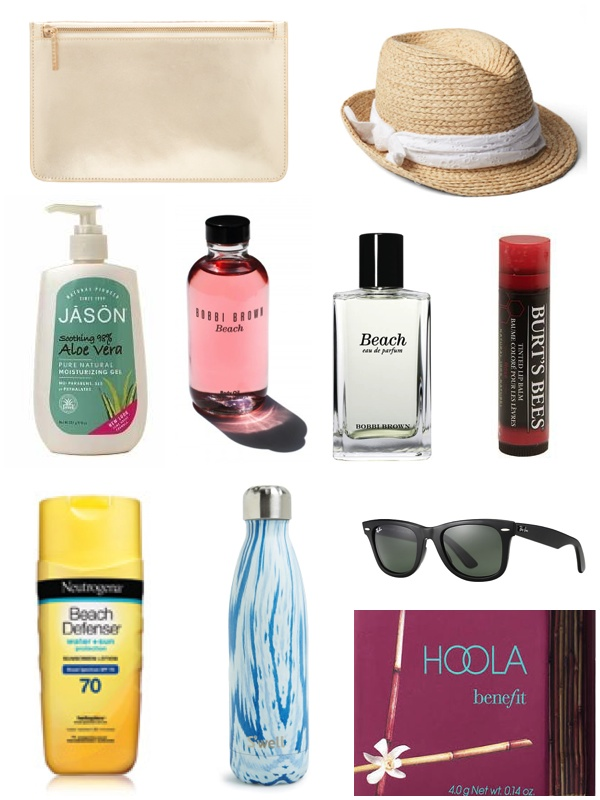 Beach Bag Essentials 2016