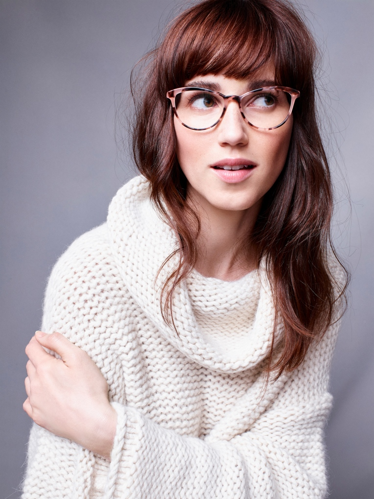 Caitlin Louise Small Blush Tortoise Warby Parker Winter 17