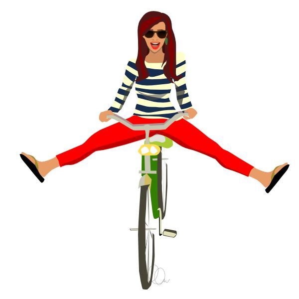 f74c0d0256270518a66ea83cf5bdd17c--bicycle-illustration-happy-illustration
